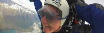 2019 skydiving Glenorchy New Zealand Reg
