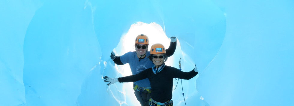 2019 Fox Glacier New Zealand ice cave gi