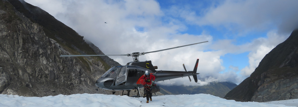 2019 Fox Glacier New Zealand helicopter