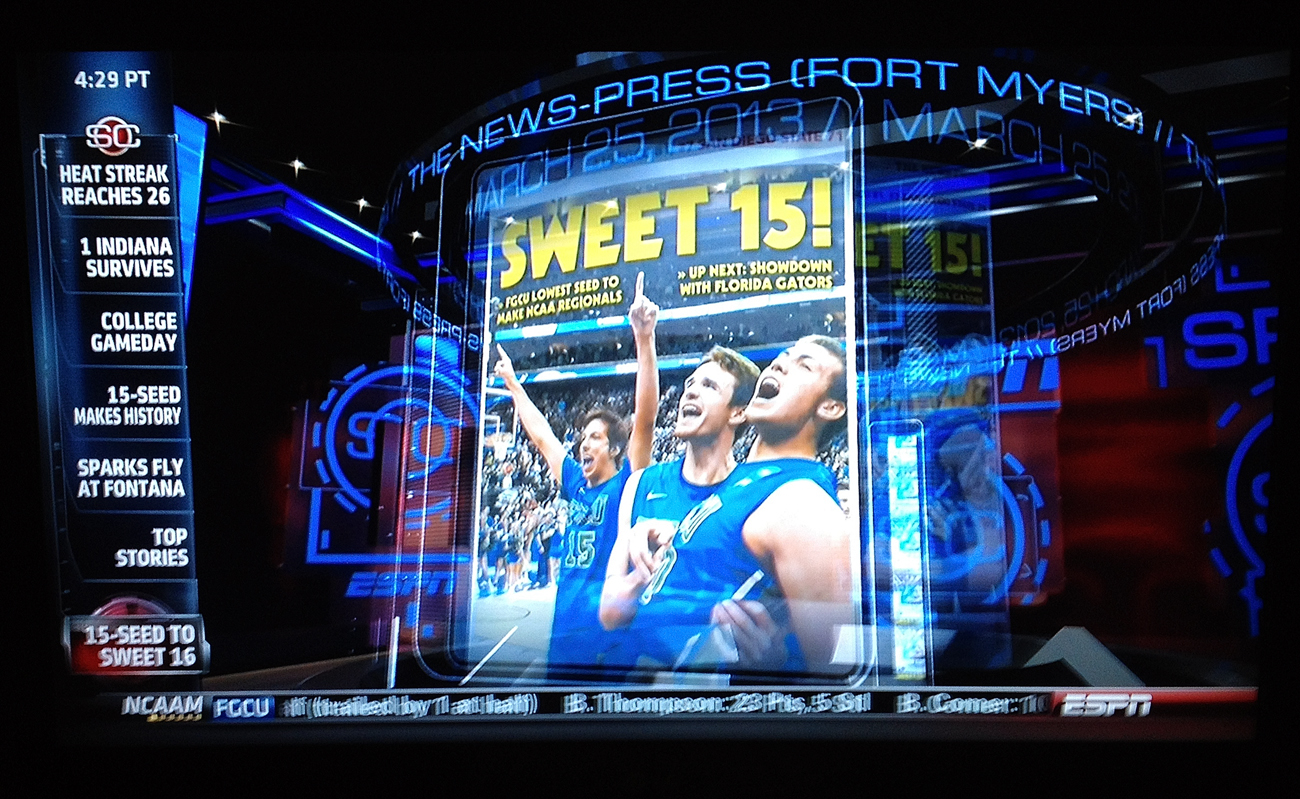 Dunk City News-Press on ESPN 3.25.13
