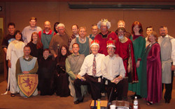 2004 Monty Python spoof Seattle Times team  (before Spamalot)