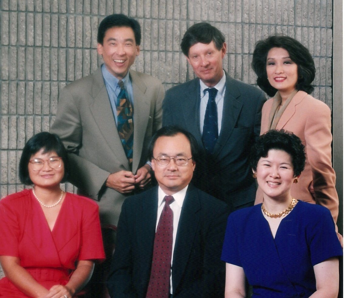With Connie Chung AAJA