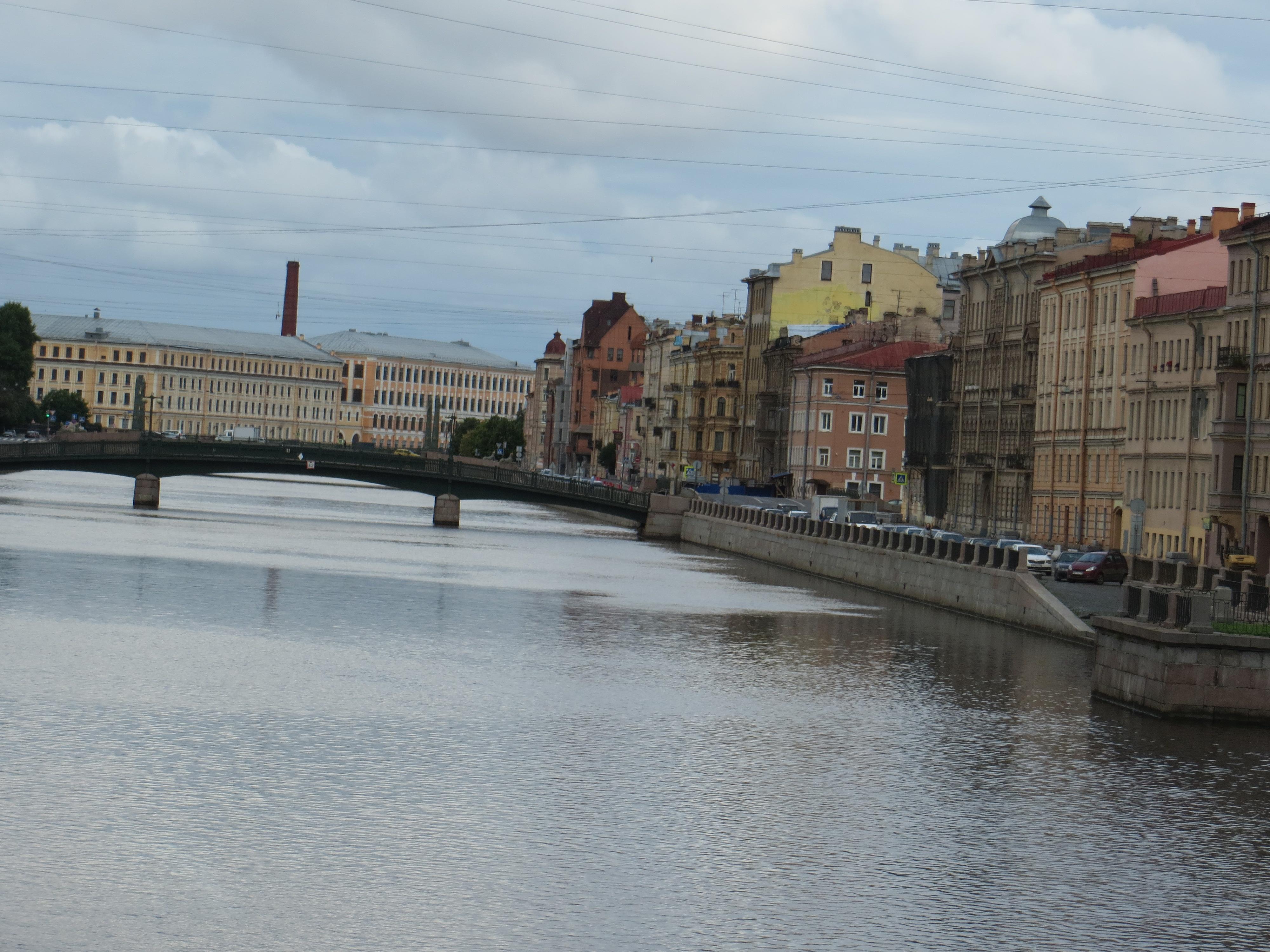 St. Petersburg Russia waterways