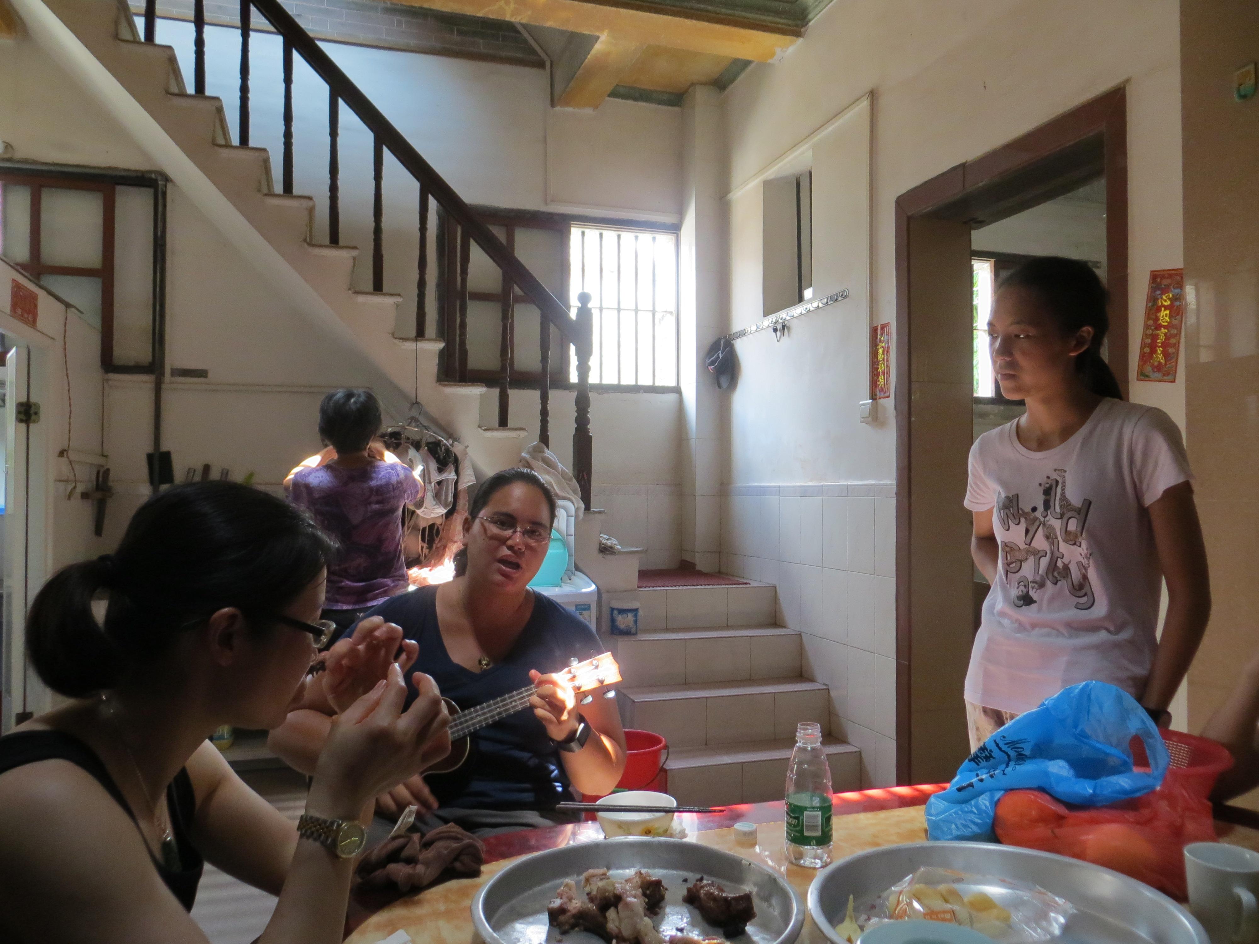 Taishan villages mom house serenade 2016-06-26 138