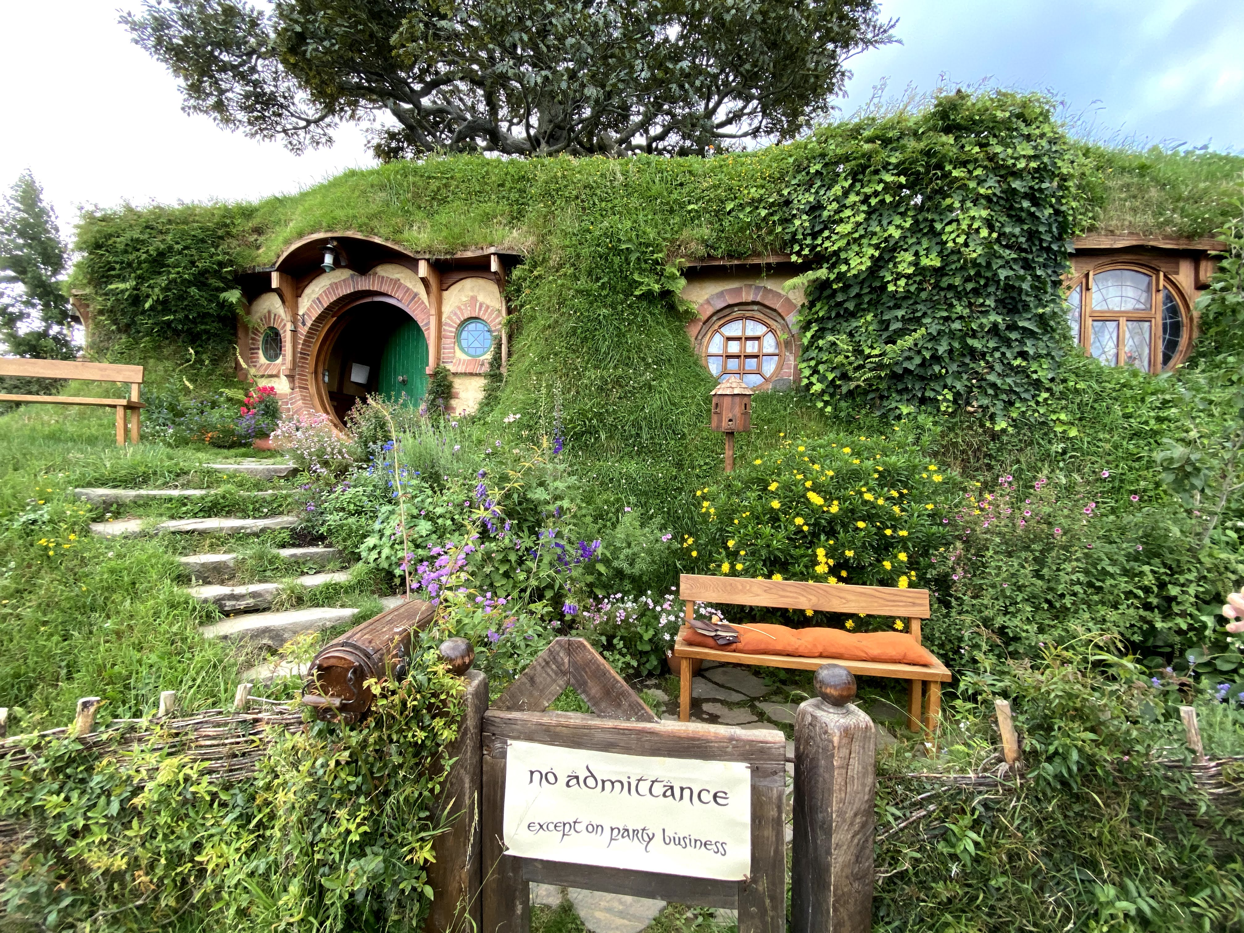 2019 Hobbiton New Zealand best Bag End I