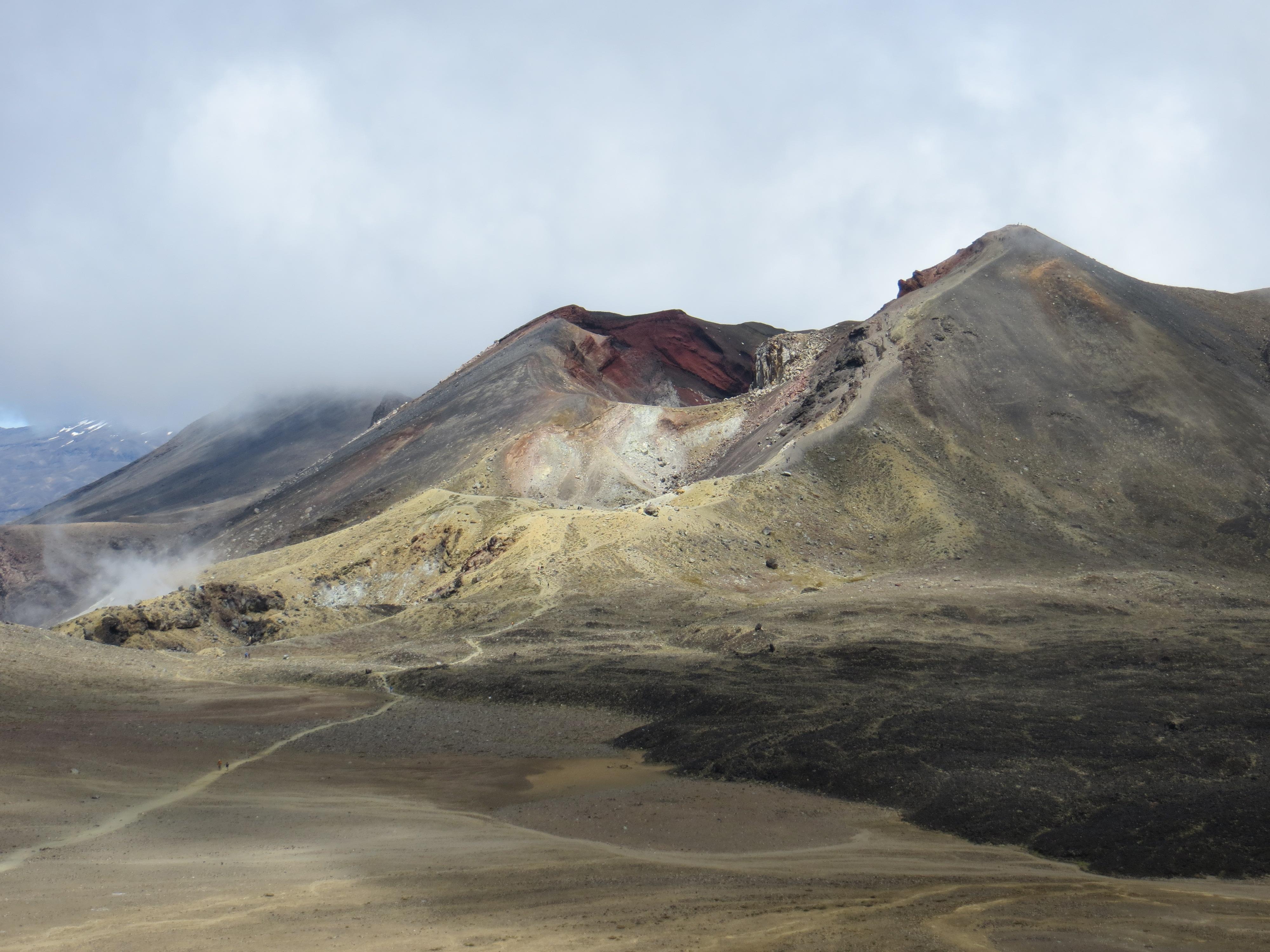 Tongariro hike best best w Doom and Ruapehu sort of 2017-01-07 184