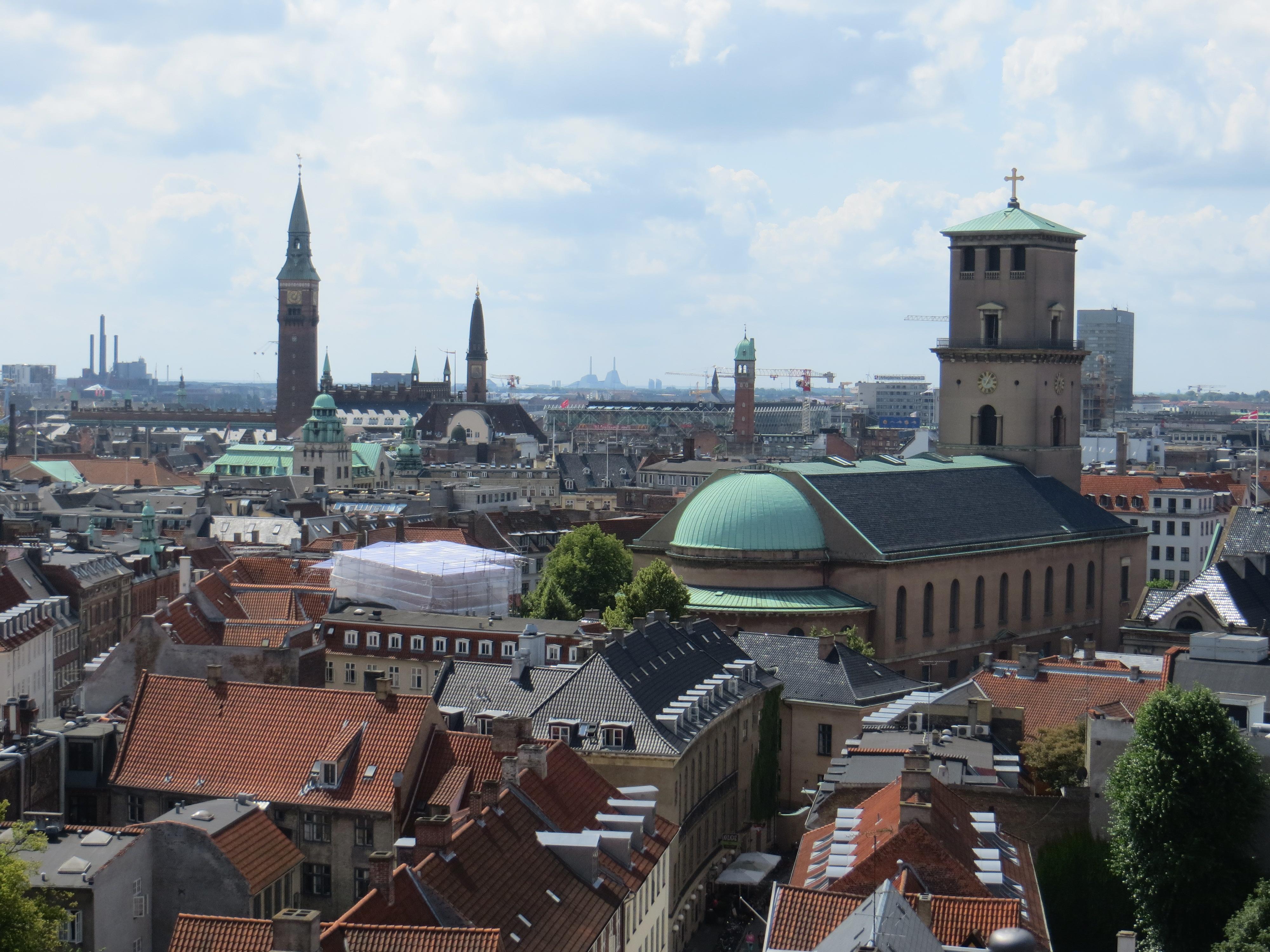 Cophenhagen 7.18 round tower view