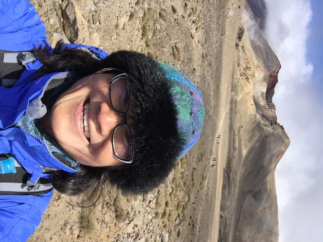 Tongariro hike best selfie 2016-08-16 031