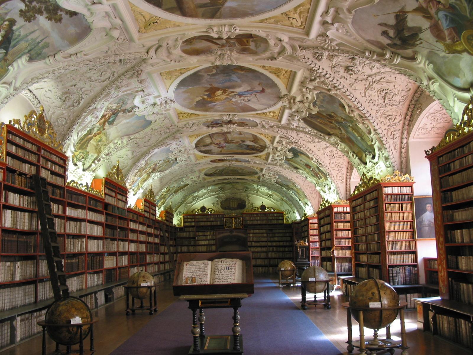 2003 Europe Prague library
