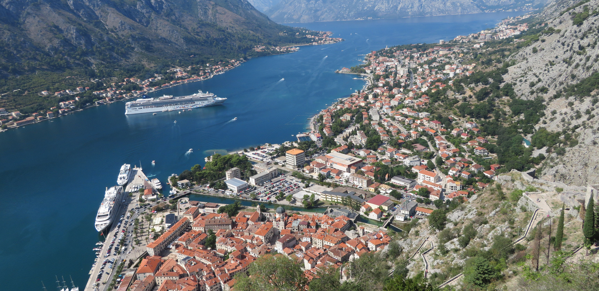 2018 Kotor, Montenegro fortress views be