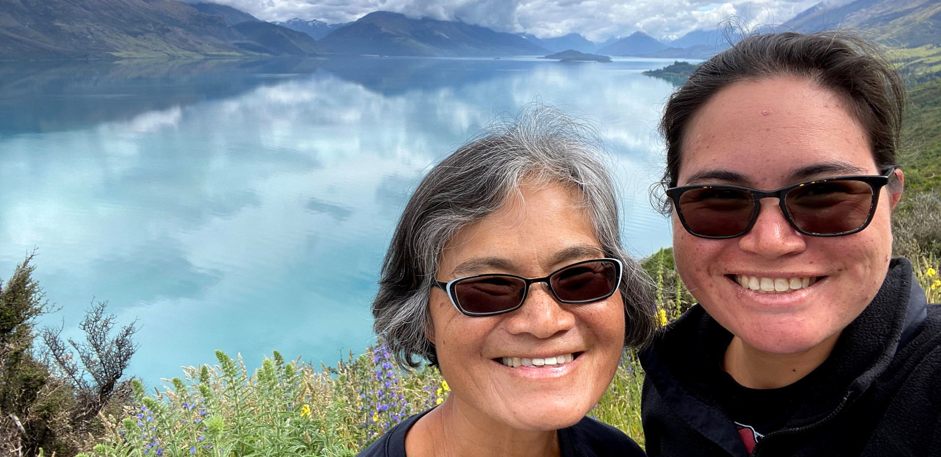 2019 on the road Queenstown to Glenorchy