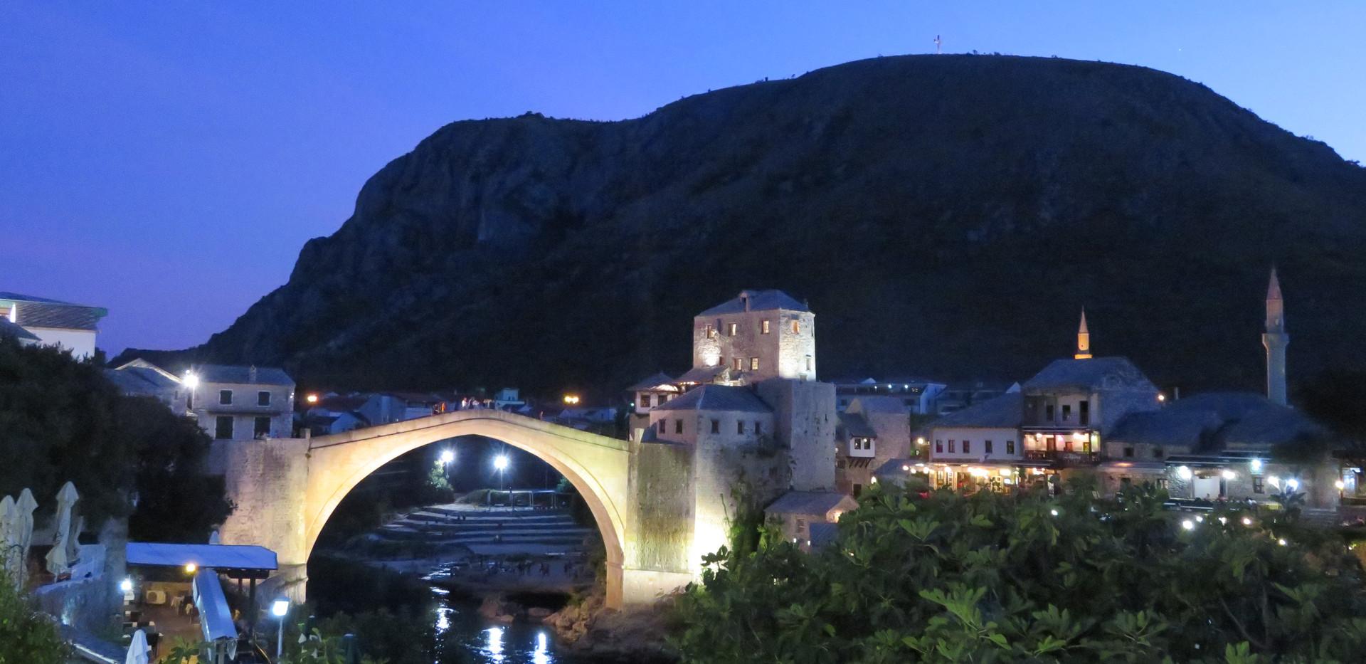 2018 Mostar, Bosnia-Herzegovina famed br