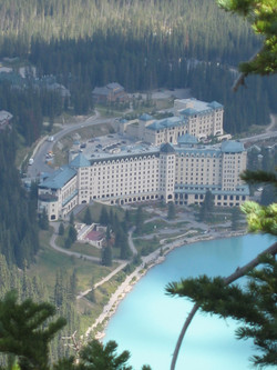 2009 Lake Louise from Beehive Baff