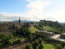 S Queensferry Scotland 7.4 Edinburgh atop Scott monument best best IMG_1452