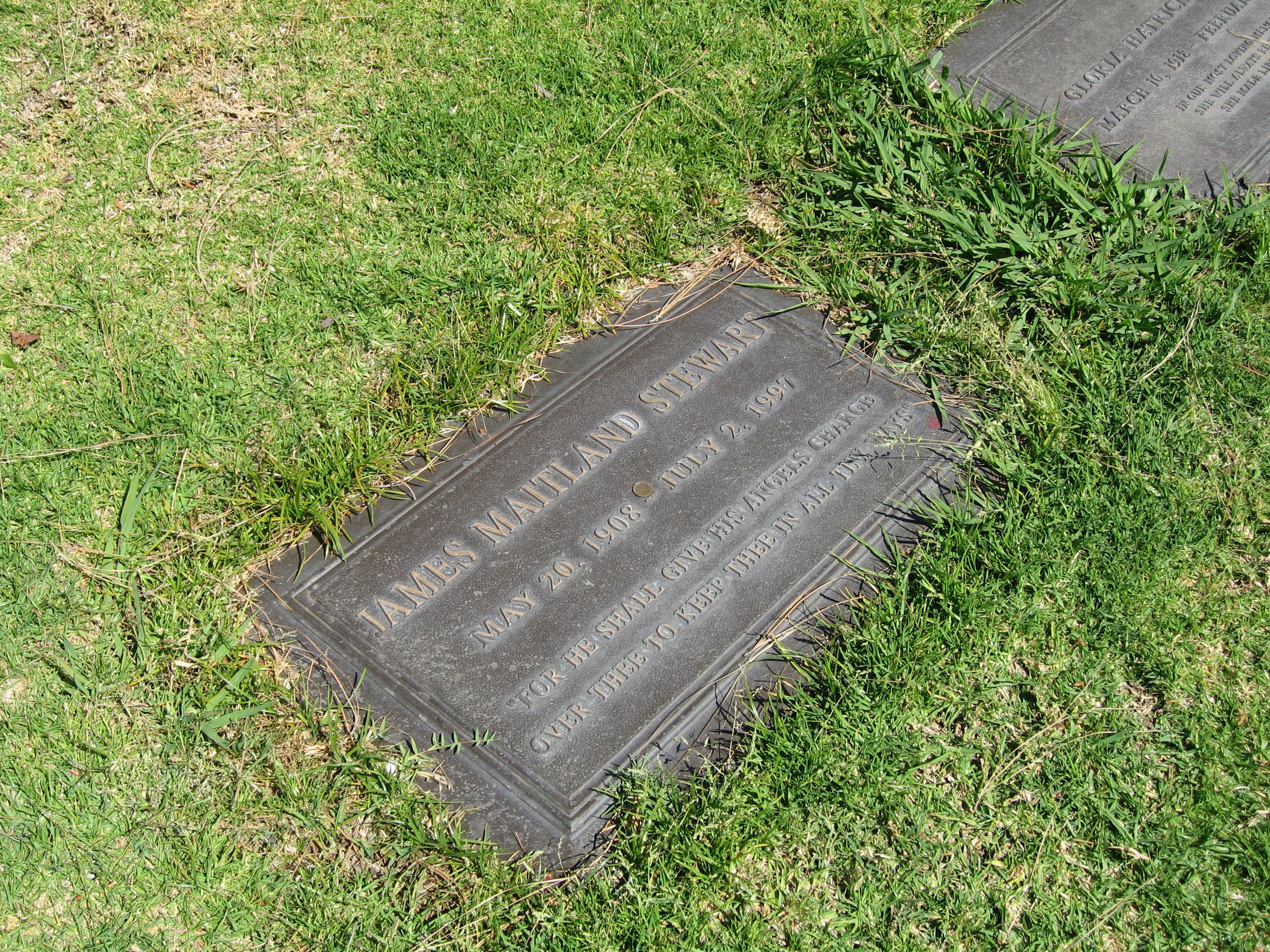 L.A. Jimmy Stewart grave