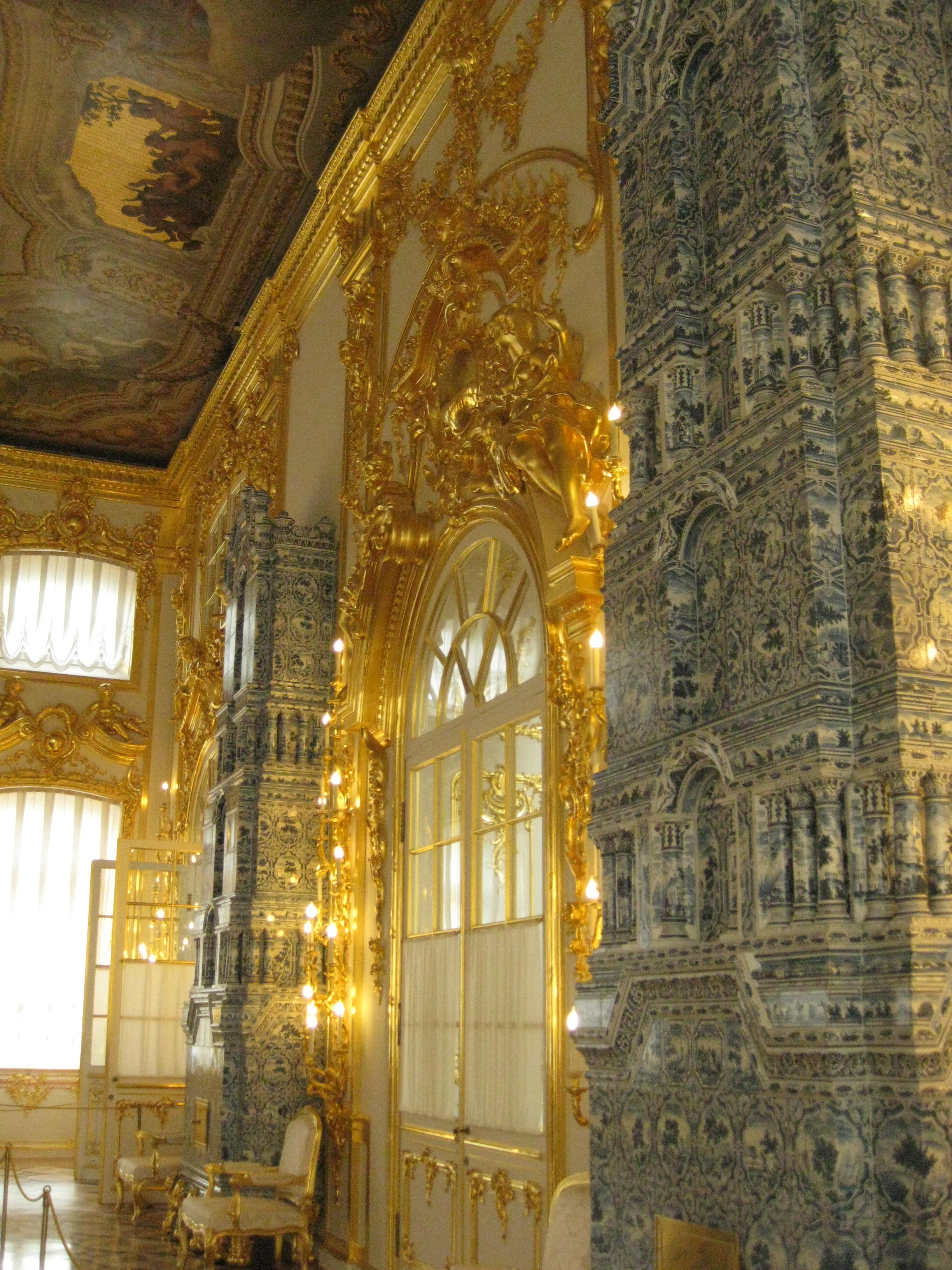 St Pete catherine's palace Russia