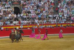 Granada Spain bullfight: