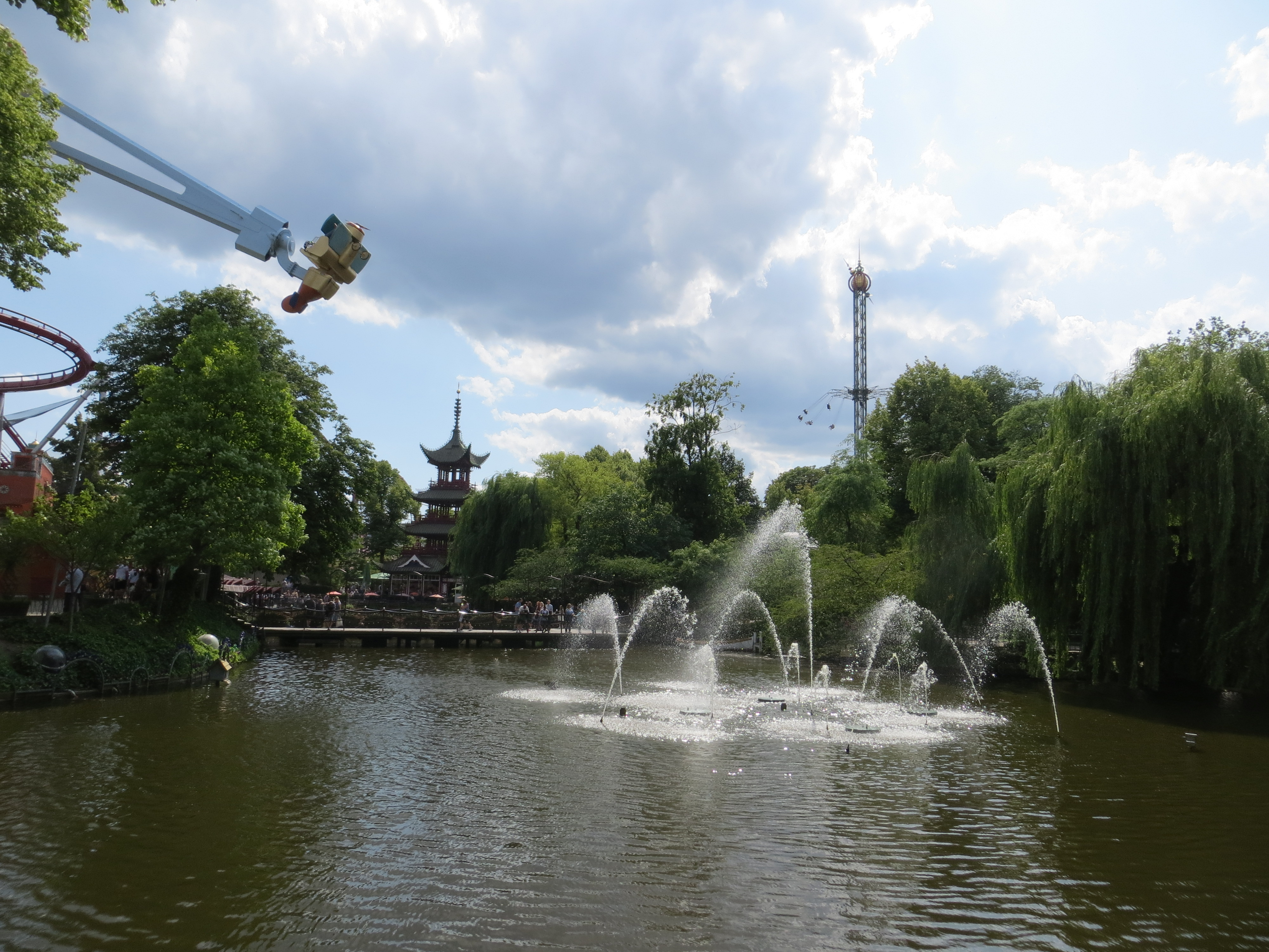 Cophenhagen 7.18 Tivoli Gardens