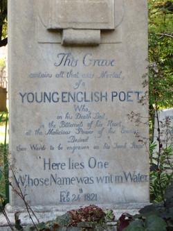 2012 Rome John Keats grave