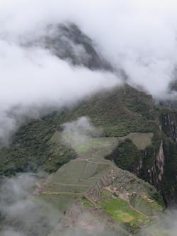Huayna Picchu hike Machu Picchu Montana mountain behind  2017-03-26 075