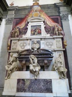 2012 Florence Michelangelo grave