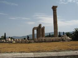2007  Greece Athens; Temple of Zeus