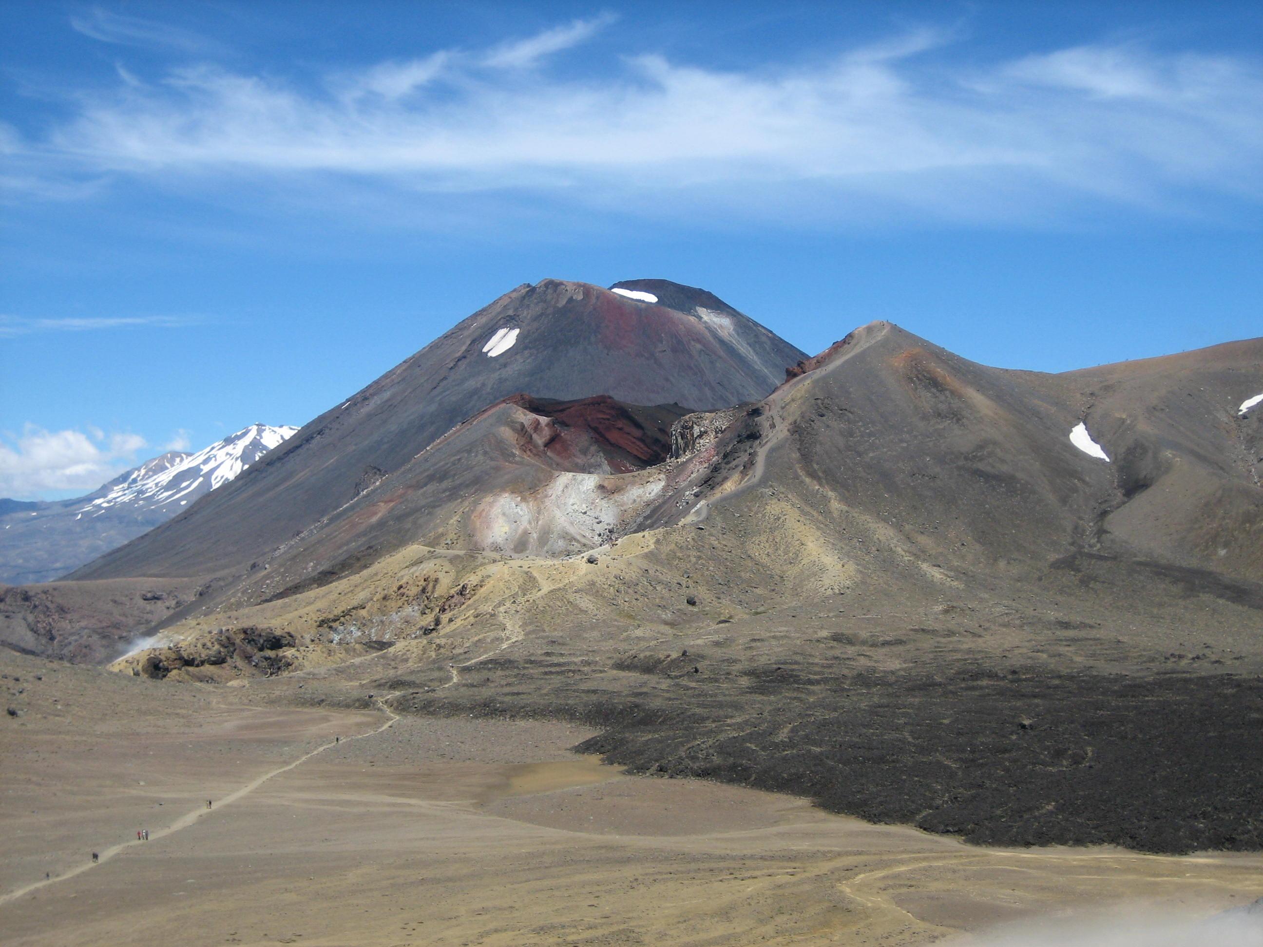2009 New Zealand Regan Mordor hike
