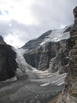 Lake Louise hike to 7 glaciers 228