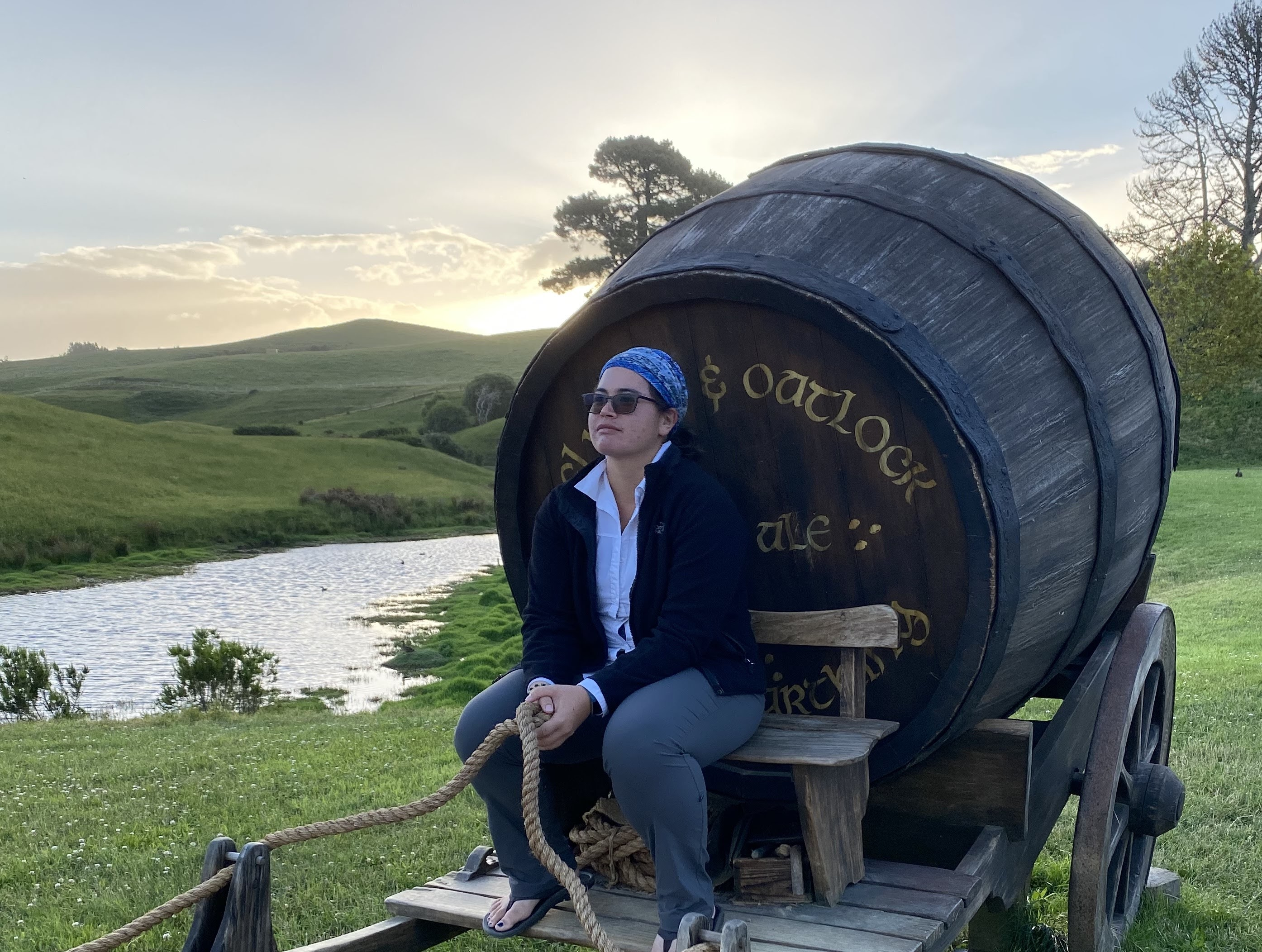 2019 Hobbiton New Zealand best Regan ale