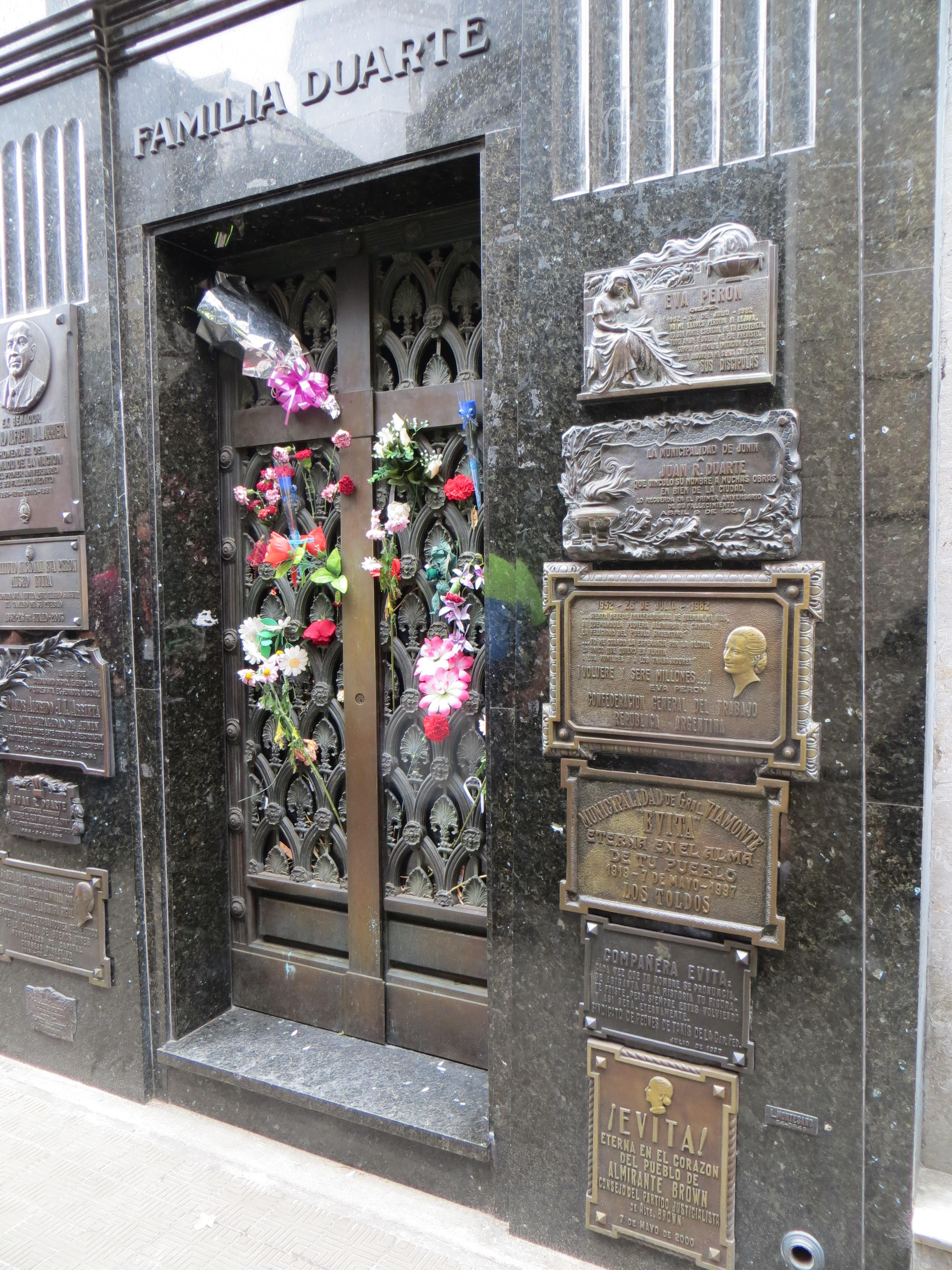 2013 BA Evita tomb Buenos Aires