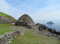 Skellig Michael 8th century monastery and Lesser Skellig best best 2017-07-08 177