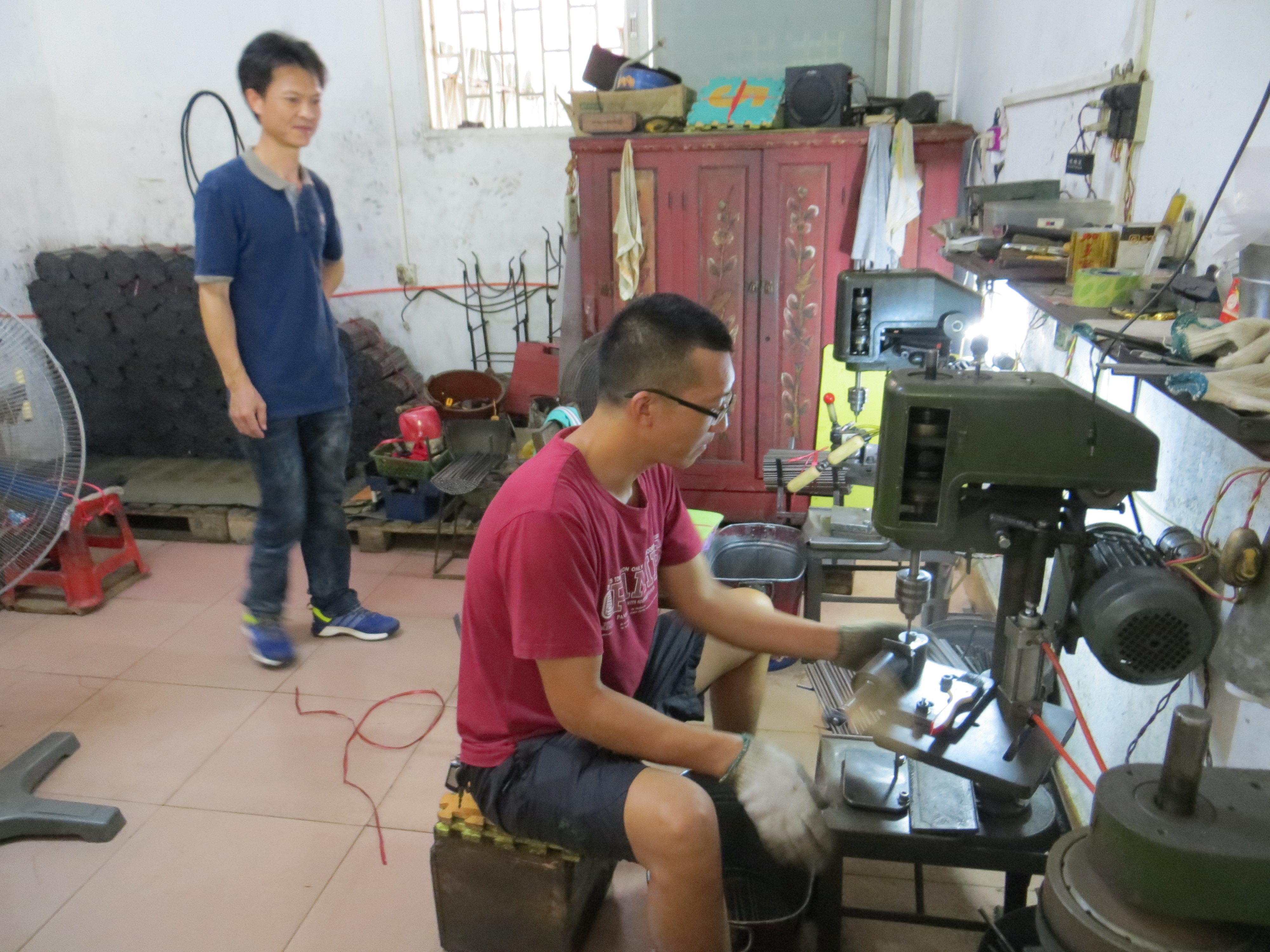 Taishan villages mom Leurng and brother Fe workshop 2016-06-25 165