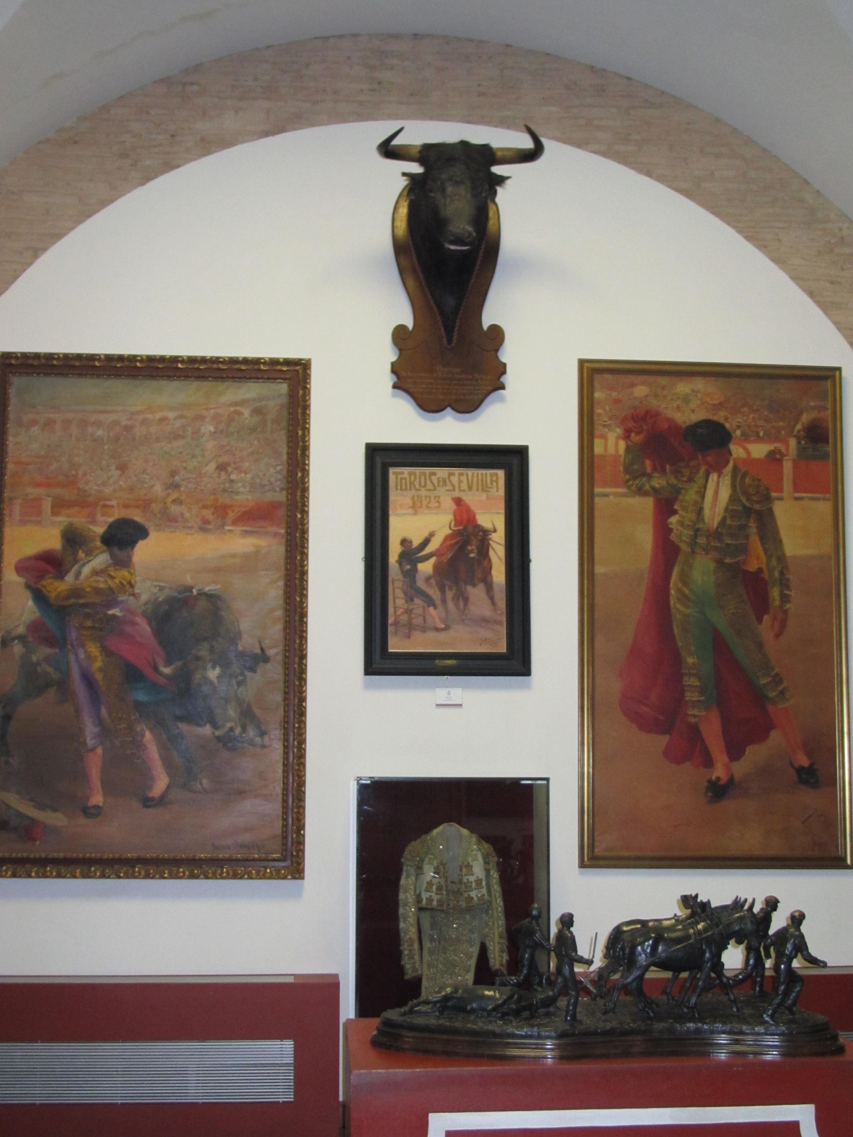 Seville bullring museum Spain
