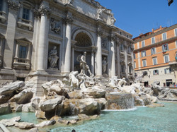 2012 Florence Trevi fountain