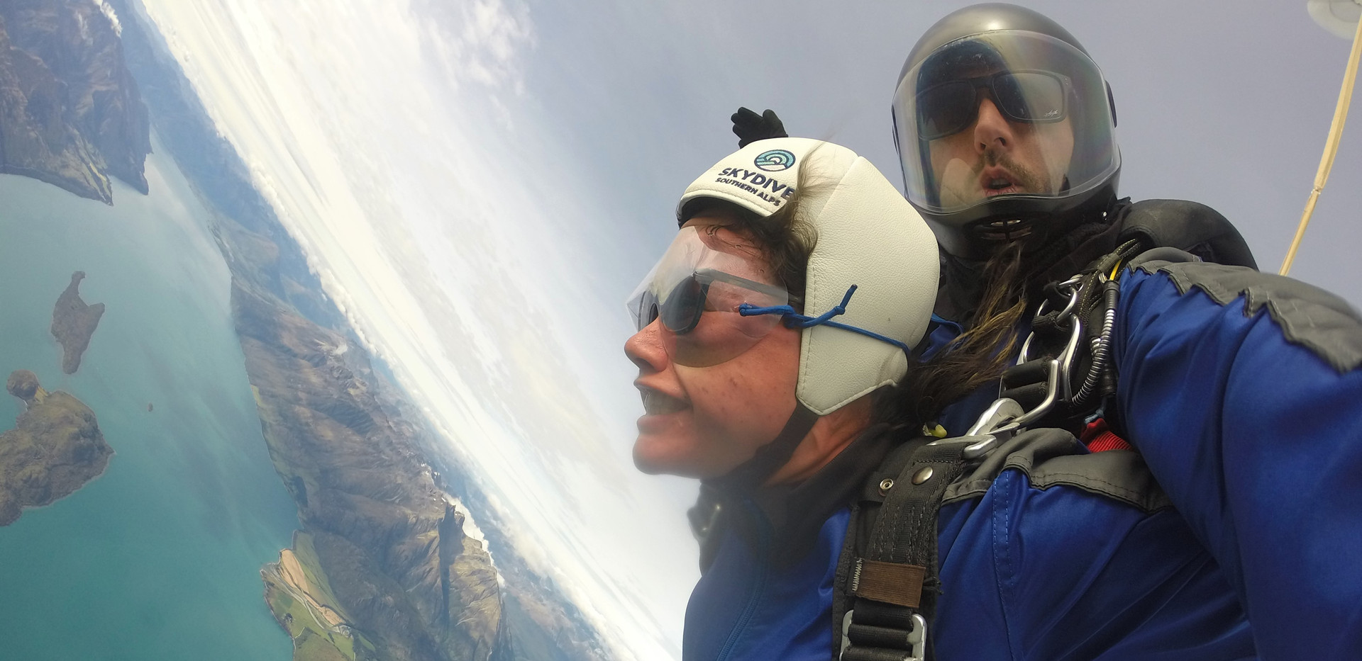 2019 skydiving Glenorchy New Zealand Reg