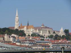 2018 Budapest view of Buda St