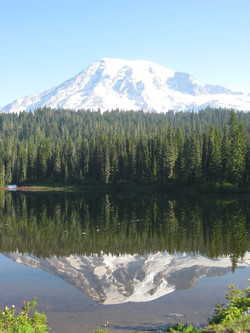 Mount Rainier reflection Washington