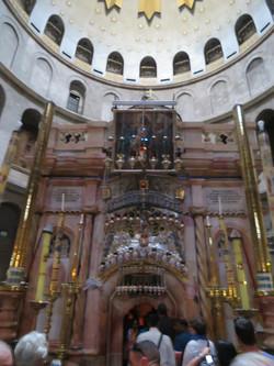 Jerusalem Resurrection Rotunda Church of the Holy Sepulcher. The spot where Jesus was buried. best