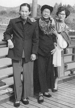 Generations Mak Fung Ho, Lee Fung Cheung (Tommy's mom), Soo circa 1957