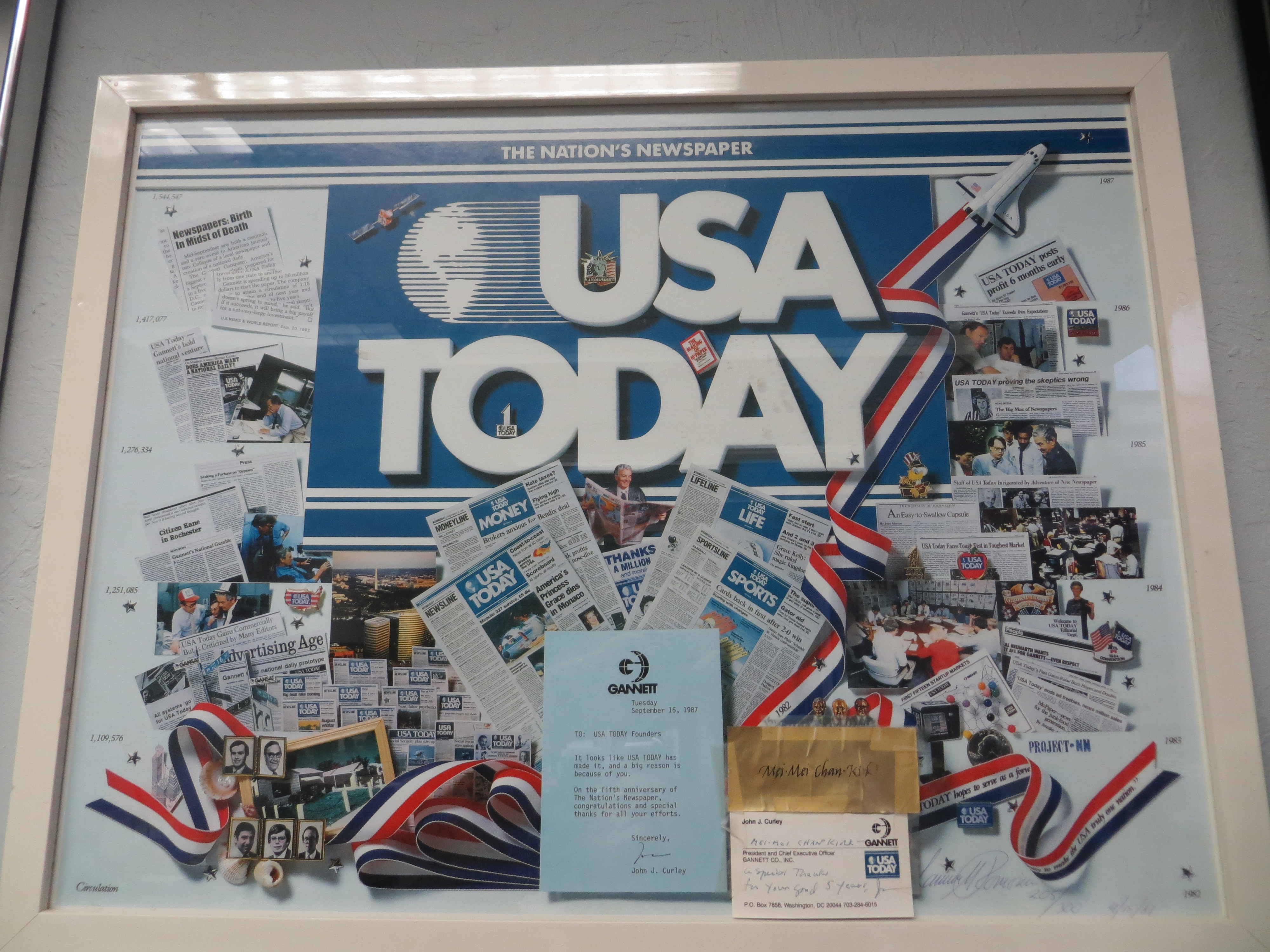 USA Today 5th anniversary
