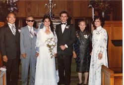 Family at Chirk wedding 7.82