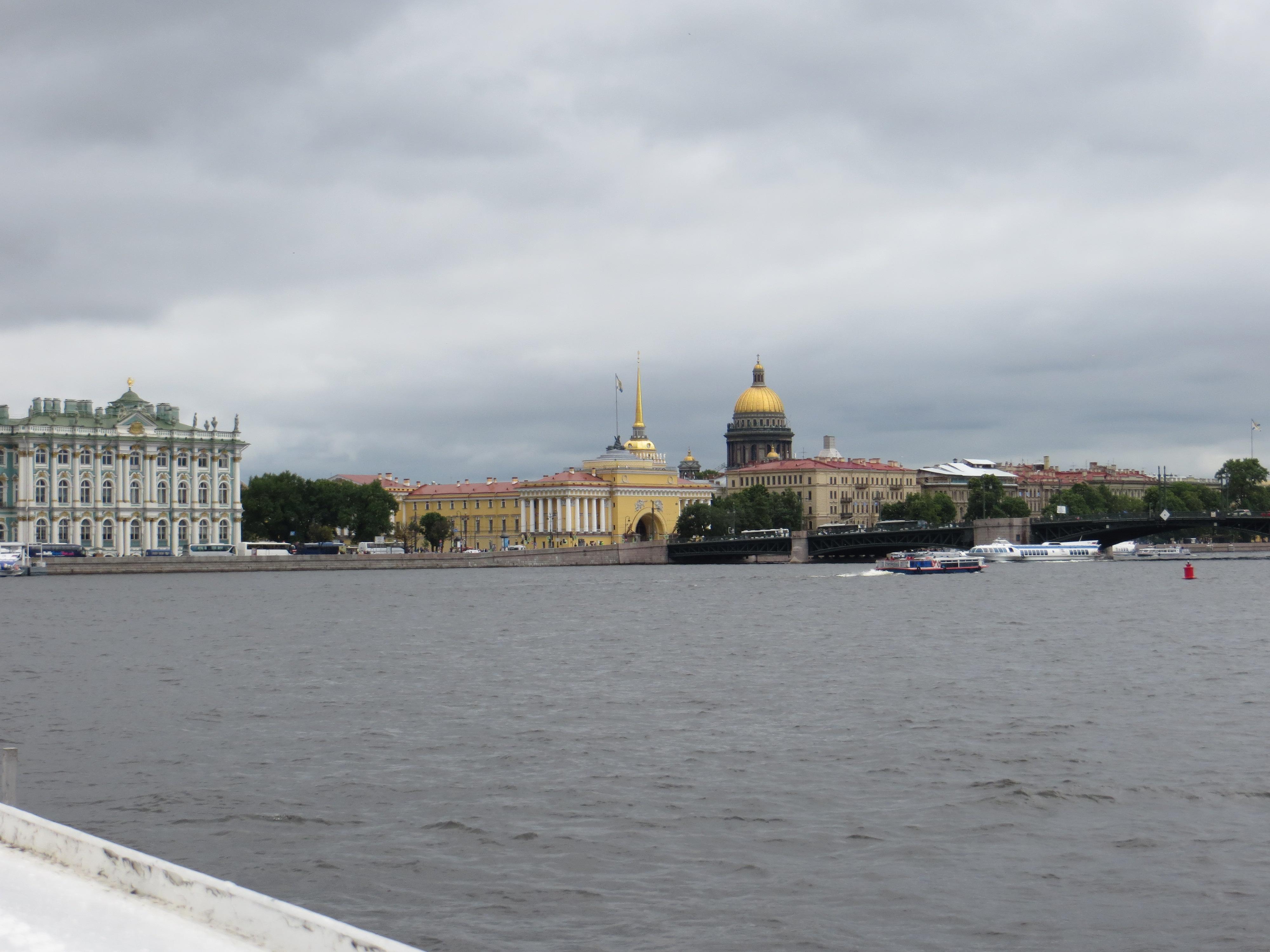 St Petersburg Russia water view