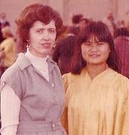 Mrs. Biddulph, teacher extraordinaire from Lane Tech