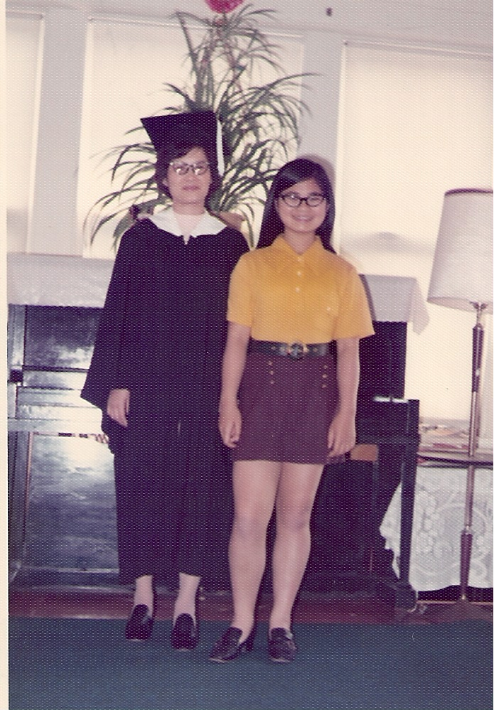 Grandma may 1977 graduates english class