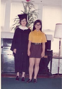Grandma may 1977 graduates english class