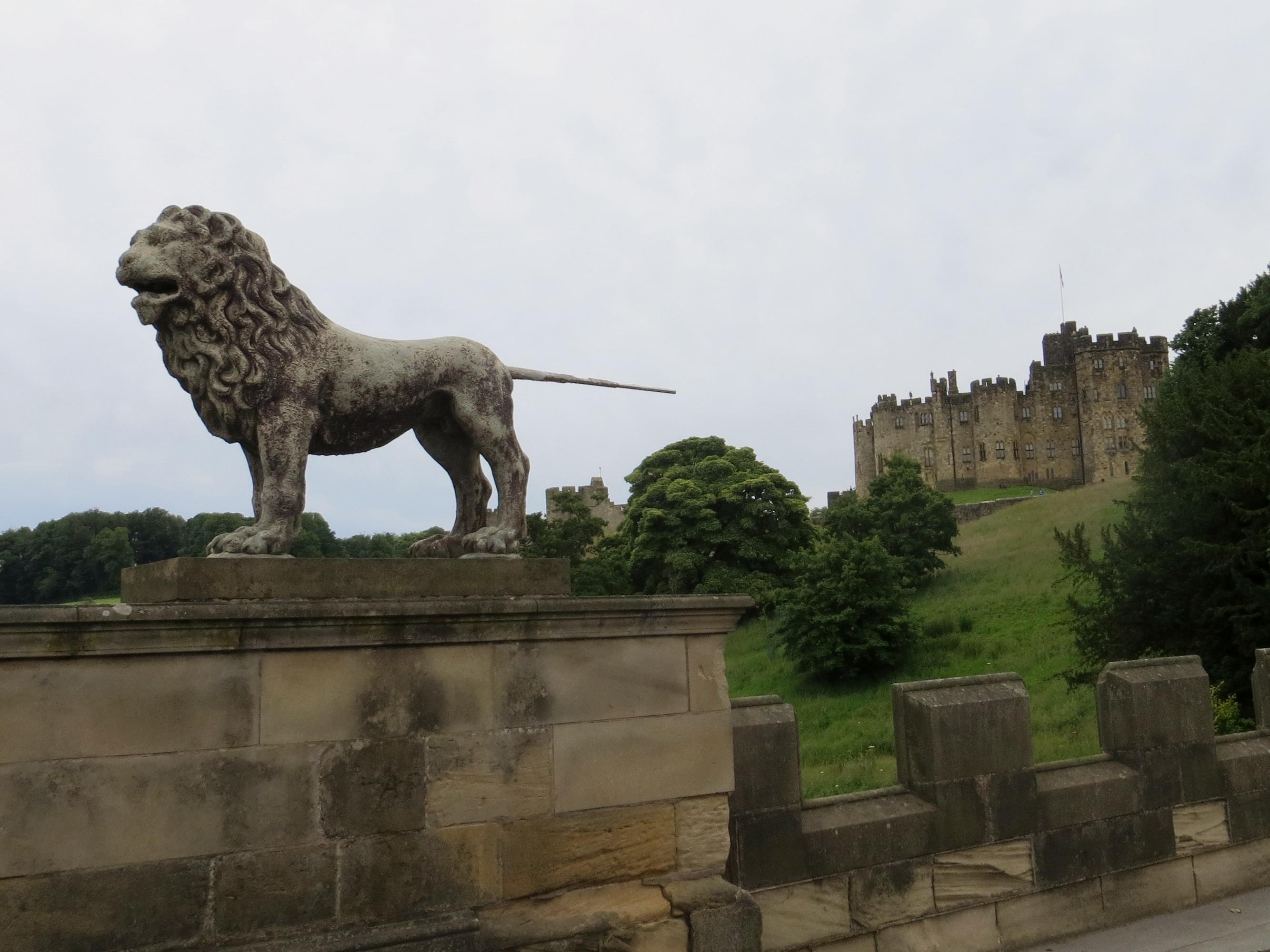 Tyne Port 7.5 tour Alnwick castle best lion MM 164