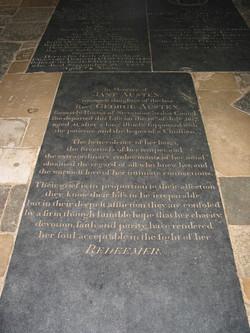 2005 England Jane Austin grave