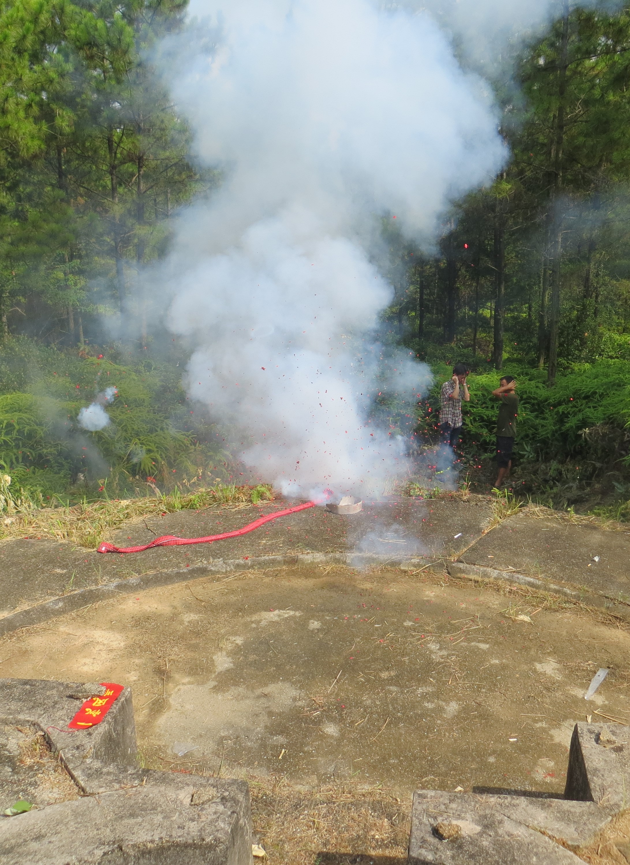 Taishan Bai San firecrackers 2016-06-26 087