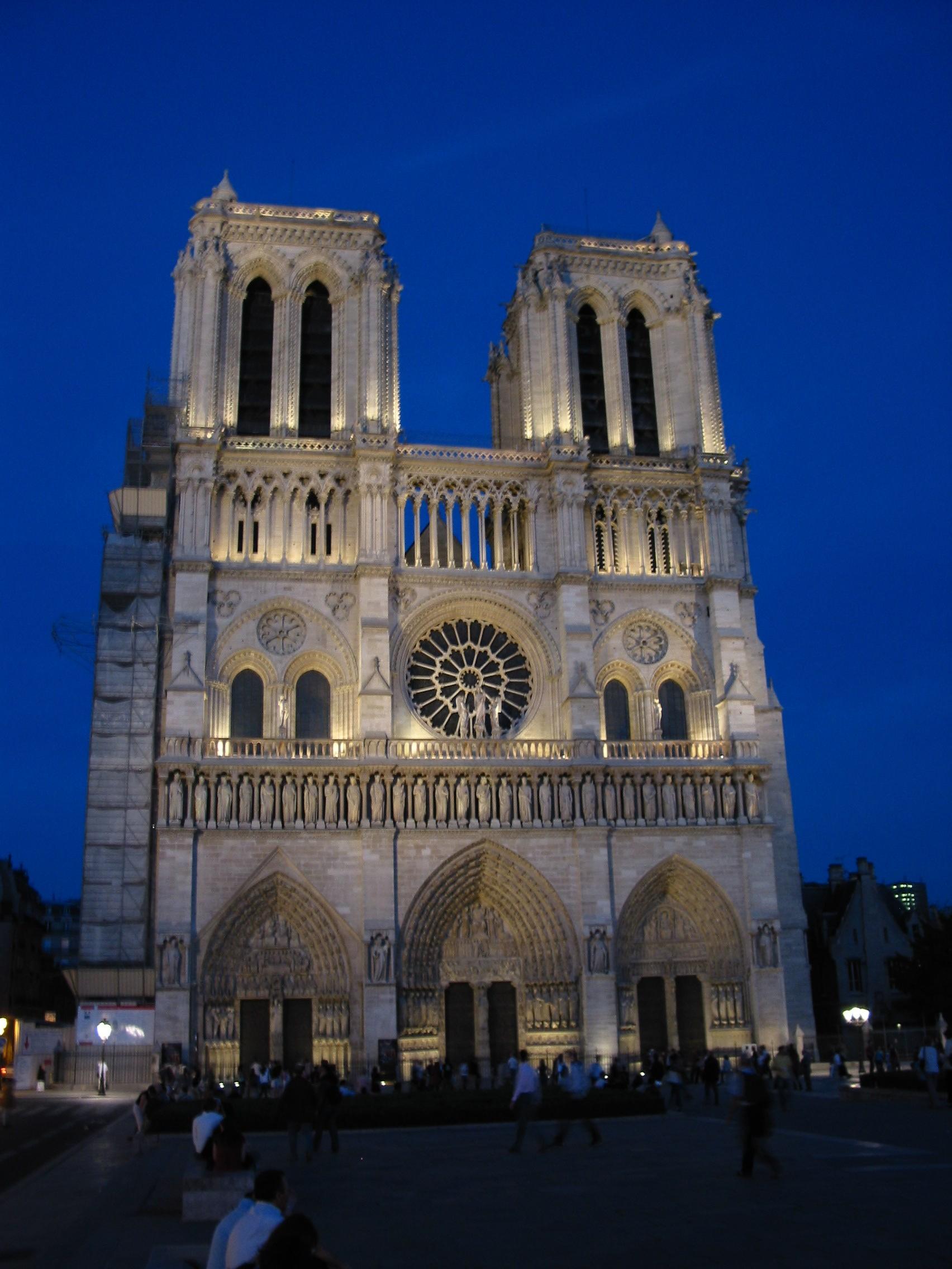 2005 Europe Notre Dame Paris