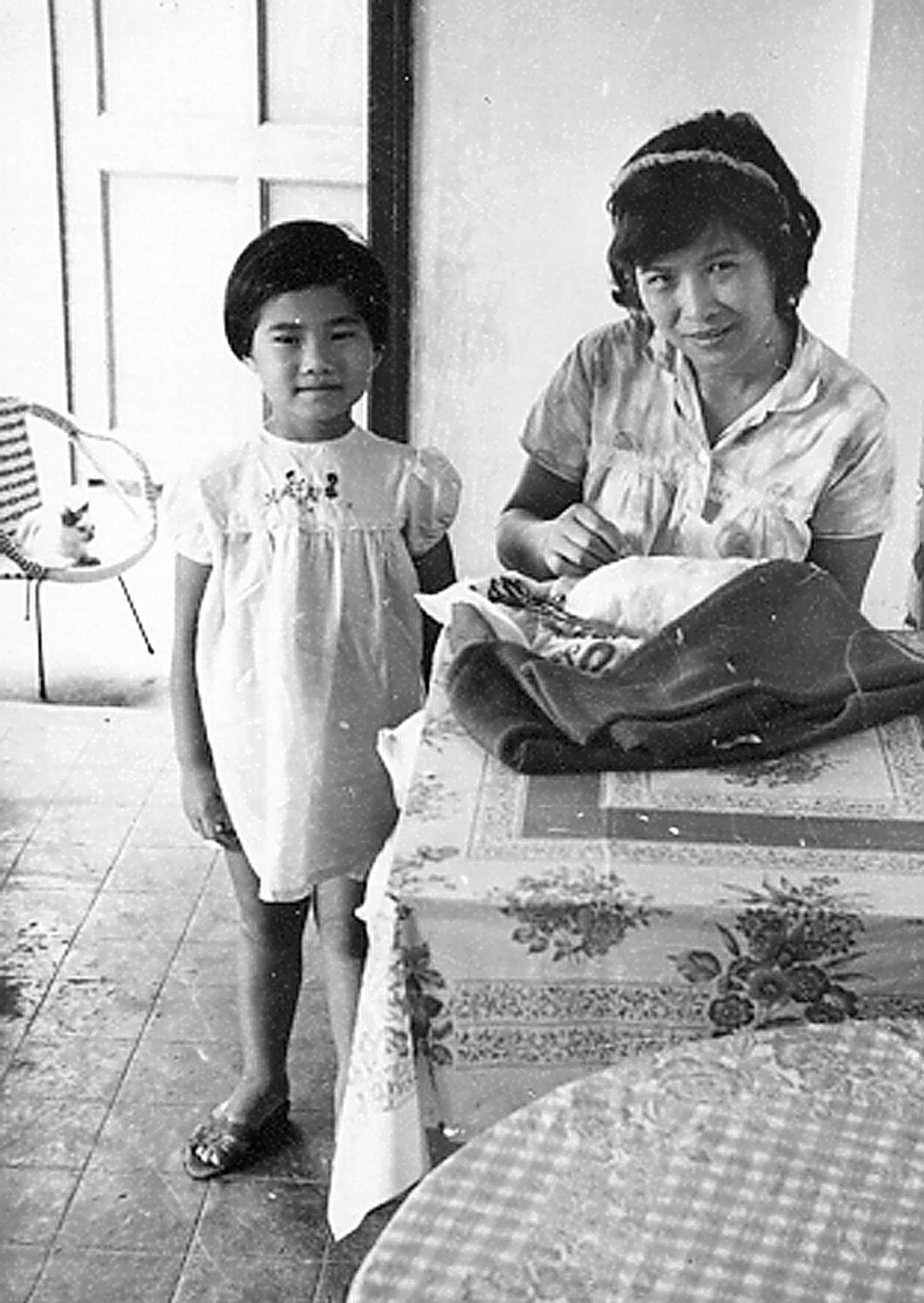 Grandma and MM in HK circa 1966